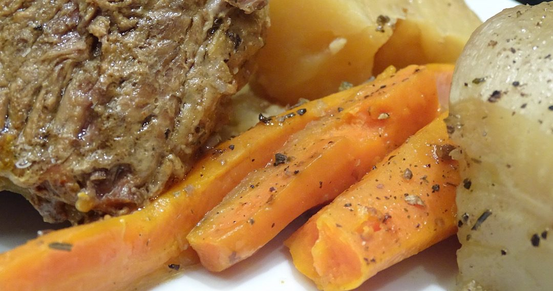 Poached Pot Roast