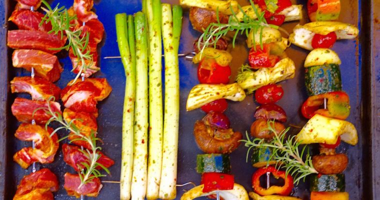 Grilled Veggies with B&B Pesto or…