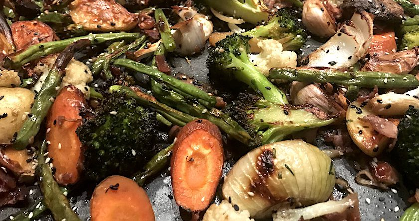 Asian Spiced Veggie Broil