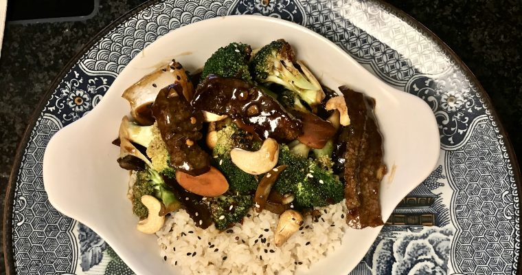 Savory Broccoli Beef