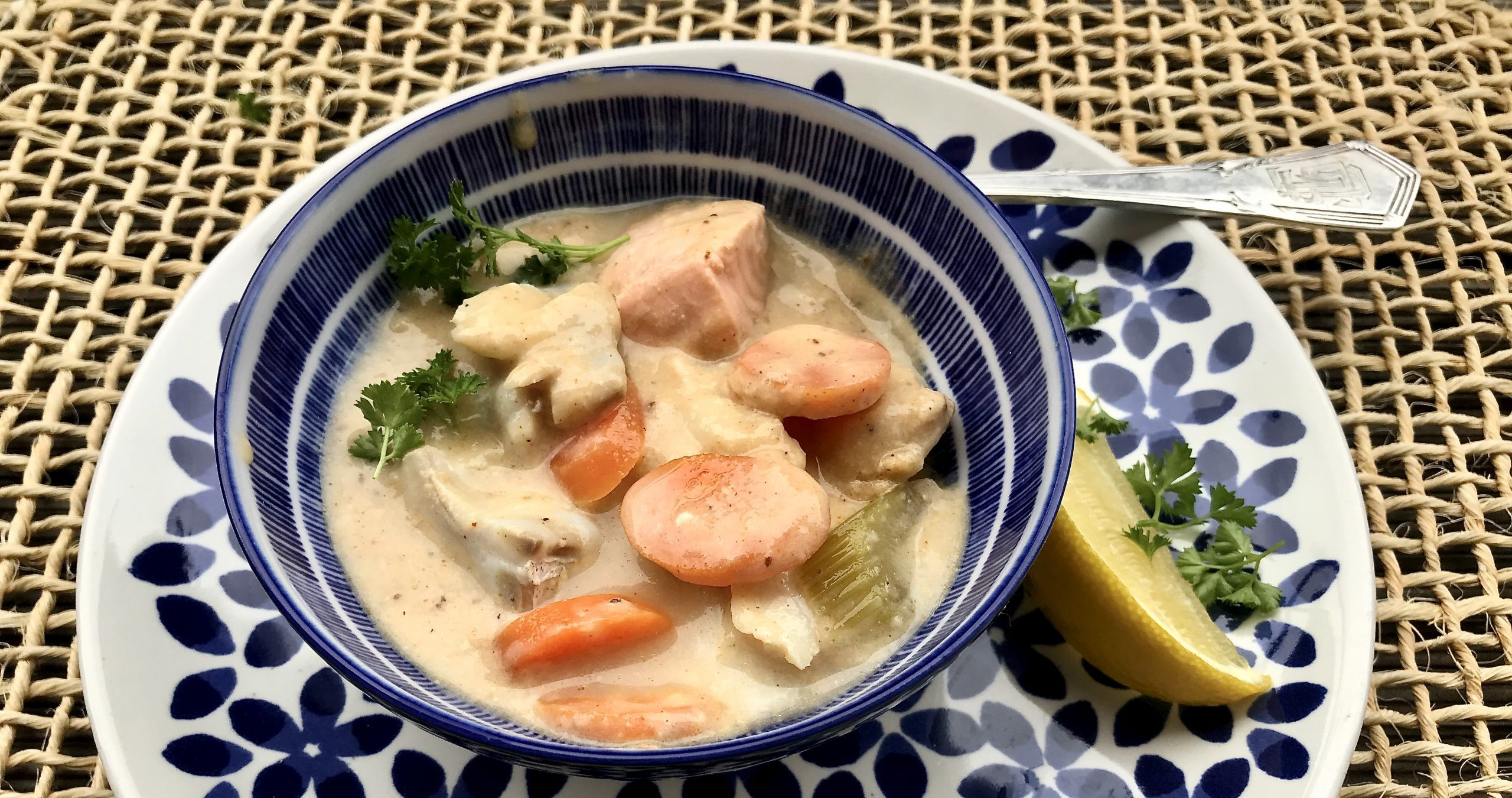Creamy Dairy-free Fish Soup