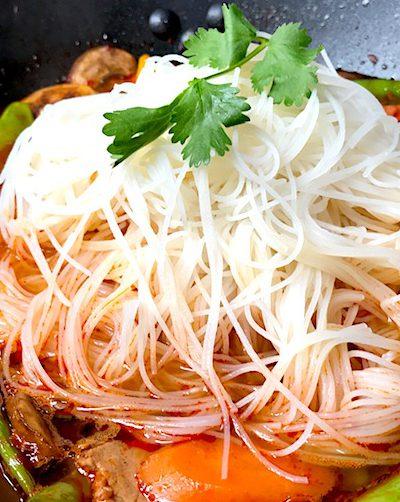 Sambal Oelek Asian Soup